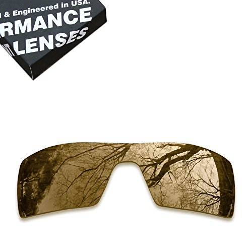 ToughAsNails Polarized Lens Replacement for Oakley Oil Rig Sunglass - More - Oilrig Oakleys