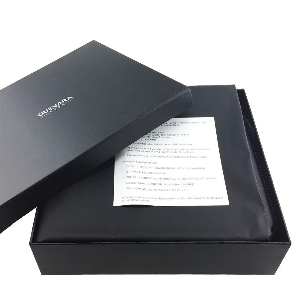 Guevara Cigar Gift Set Gift Box Ashtray(1) + Cutter(1) + Lighter(1) (Gold) by Guevara (Image #2)