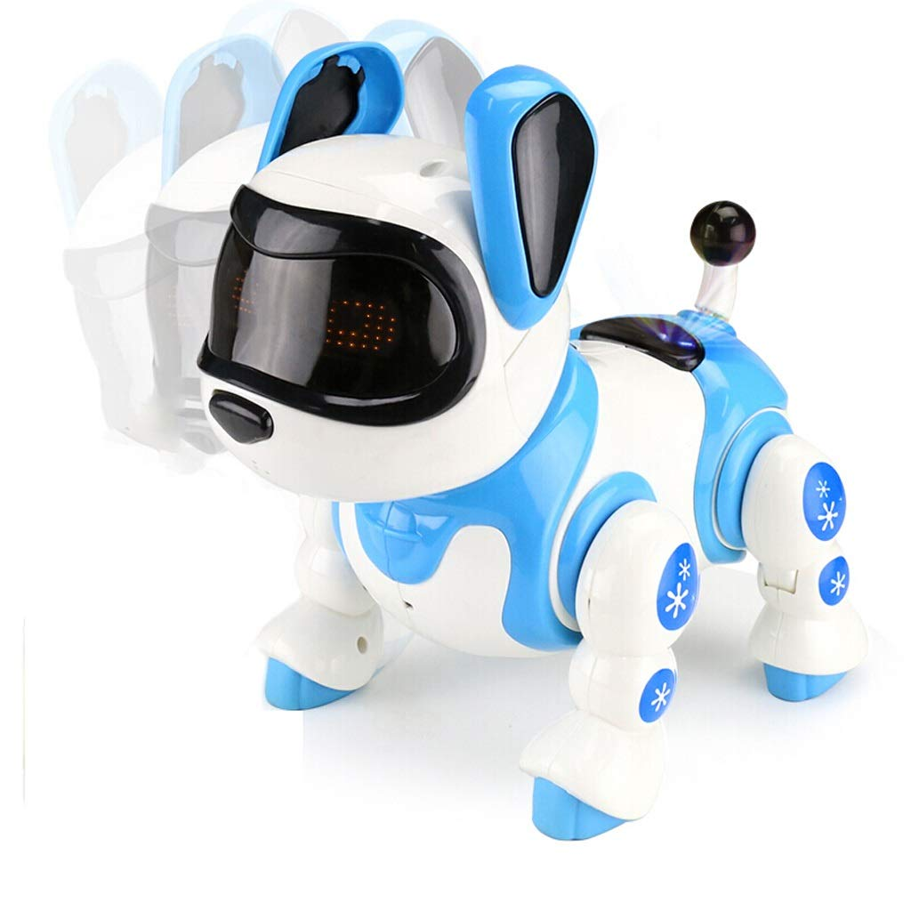 DUWEN Robot Toy Robot Dog Control Remoto Inteligente Niños Electric Pet Voz del Perro estropeado Dancing Pet Toy Boy Girl