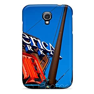 For ORRICO Galaxy Protective Case, High Quality For Galaxy S4 Tigers Baseball Detroit Skin Case Cover