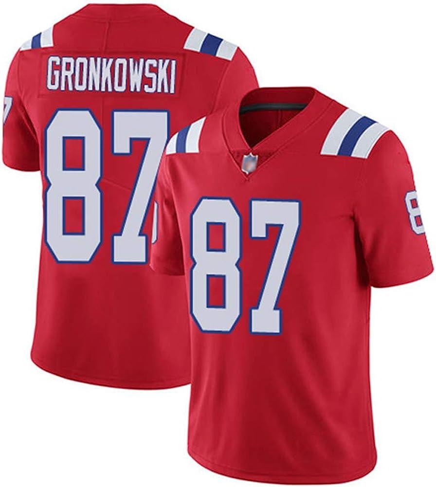 Camiseta de Rugby Rob Gronkowski # 87 Camiseta de fútbol de ...