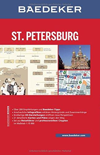 baedeker reisefuhrer sankt petersburg mit grossem cityplan