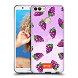 grape 7s - Official Emoji Grapes Fruits Soft Gel Case for Huawei P Smart / Enjoy 7S