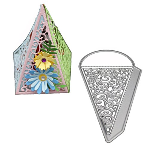 Flower Die Cut,iHPH7 Hearts Metal Cutting Dies Stencils DIY Scrapbooking Album Paper Card Making 768 ()