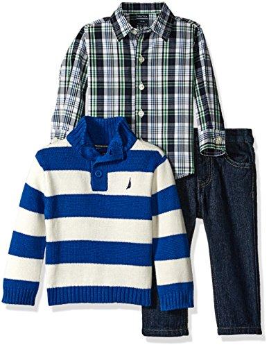 nautica-baby-three-piece-set-with-woven-quarter-button-sweater-denim-jean-medium-blue-24-months