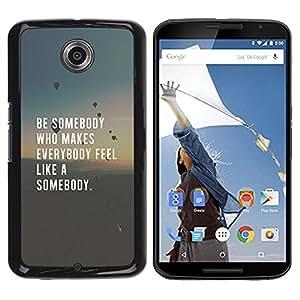 rígido protector delgado Shell Prima Delgada Casa Carcasa Funda Case Bandera Cover Armor para Motorola NEXUS 6 / X / Moto X Pro /Love Inspiring Quote Smart/ STRONG