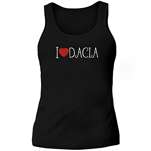 Idakoos I love Dacia cool style - Nomi Femminili - Canotta Donna
