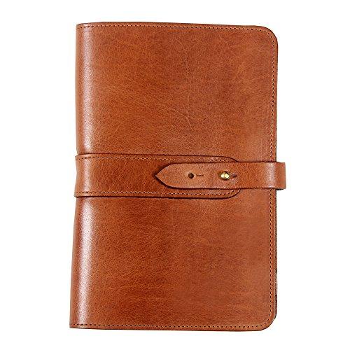 Leather Business Portfolio Notebook Travel