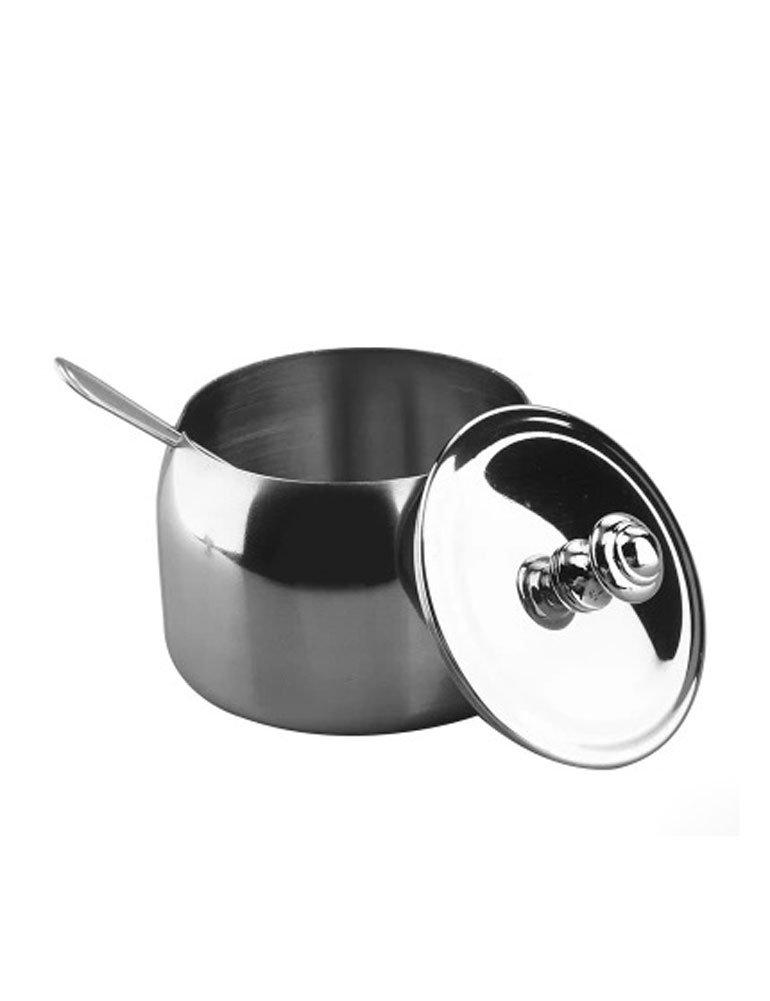 Cozyle zuccheriera in acciaio INOX non magnetico argento