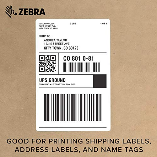 Zebra - GX420d Direct Thermal Desktop Printer for Labels, Receipts, Barcodes, Tags, and Wrist Bands - Print Width of 4 in - USB, Serial, and Ethernet Port Connectivity (Includes Peeler) by Zebra Technologies (Image #6)