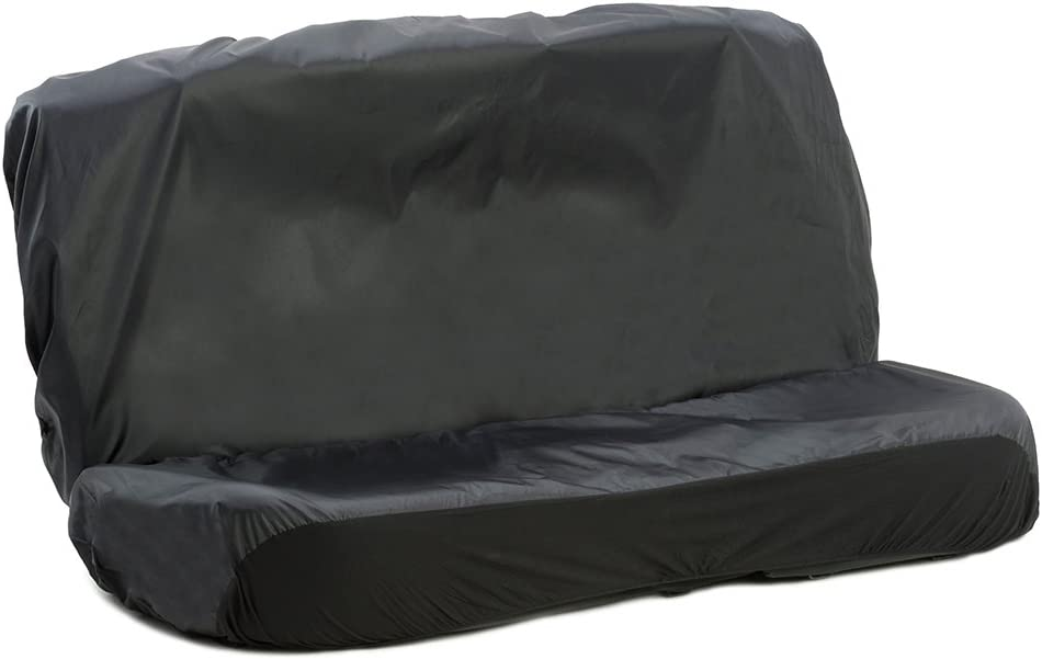 Auto Companion Waterproof Car Rear Bench-Seat Covers, Universal (Options of Front or Rear) - Black