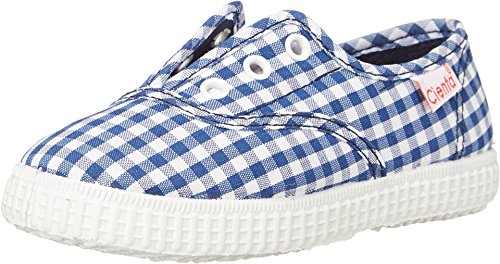 CIENTA Sneakers Junge Textile (23 EU, Blau / Weiß)