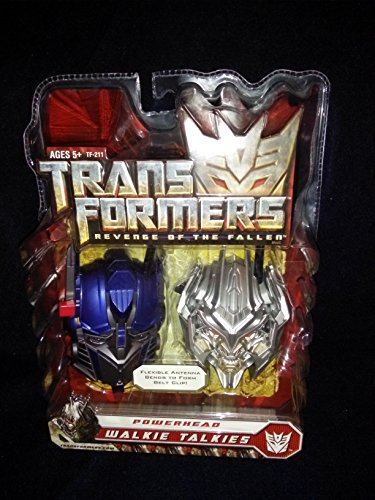 Transformers Powerhead Walkie Talkies – Optimus Prime & Megatron by Kid Designs