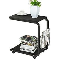 Soges Laptop Computer Stand Desk Cart