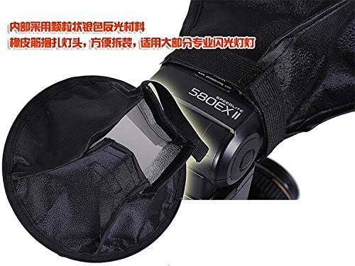 Mini Softbox Flash Diffuser 20cm Octagon Soft Box for Canon for Nikon Speedlite 430EX 580EX 600EX SB900 SB800 SB700