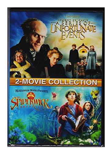 Lemony Snicket's A Series of Unfortunate Events / The Spiderwick Chronicles (DVD DBFE)