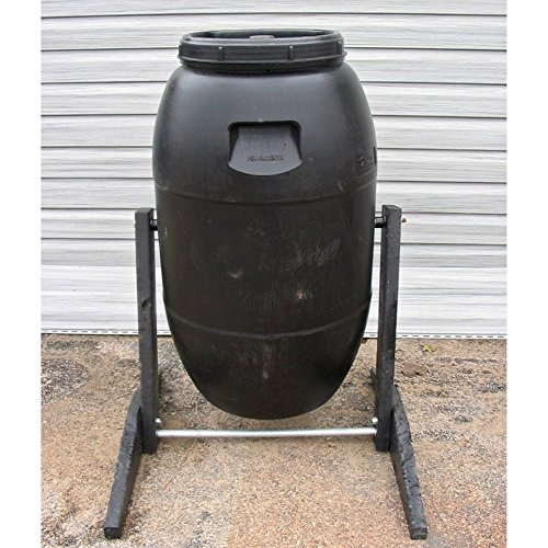 Upcycle TUMBLING COMPOSTER 55 gal Plastic Compost Tumbler - Composter Tumbler Barrel Bin