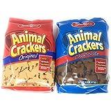 Stauffer's Animal Crackers Variety: Chocolate & Original 14.5oz.[1 of Each]