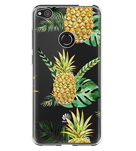 Price comparison product image Huawei P8 lite 2017 Case ,Flyeri Stylish Color Pattern Printing Fruit Animal Transparent Clear Soft silicone TPU Ultra thin Phone cover back cases For Huawei P9 lite (3)