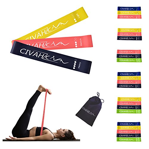 Resistance Loop Bands Natural Latex Stretch Band Workout for