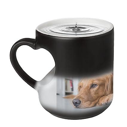 amazon com magic custom photo color changing coffee mug cup