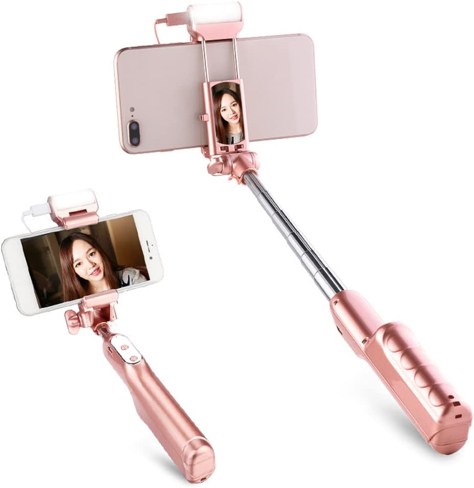 Selfie stick Mobile Phone Bluetooth Fill Light Universal Camera Artifact from The Card