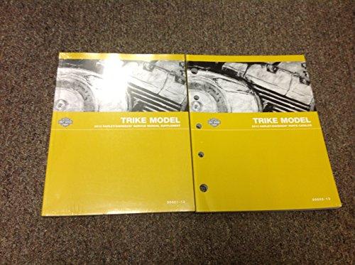Harley Parts Catalog - 2013 Harley Davidson TRIKE Models Service Shop Manual SUPPLEMENT W Parts Catalog