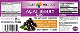 1 Bott Pure ACAI Berry Powder 1200mg Powerful Antioxidant Anti-Aging 60 Capsules Discount