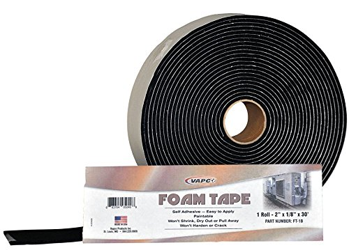 (Vapco Foam Tape - insulation & condensation prevention tape for pipes & tubing - #1 for)