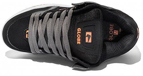 Zapatillas Globe: Tilt BK/GR Black/Charcoal/Orange