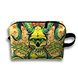 Unisex Skull Interesting Travel Printed Bag