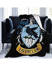 """Ravenclaws Deken Ultrazachte Micro Fleece Deken Super Zachte Lichtgewicht Gooi Deken Quilt voor Bed Bank Bank Bank 50 """"X40"""""""