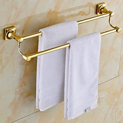 Phenomenal Sprinkle Wall Mount Lavatory Towel Racks Bath Shower Accessories Gold Plated Brass Bathroom Towel Rack Golden Towel Bars And Holders Gold Luxury Free Download Free Architecture Designs Rallybritishbridgeorg