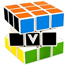 V-Cube 3 Cube Toy, White/Multicolor