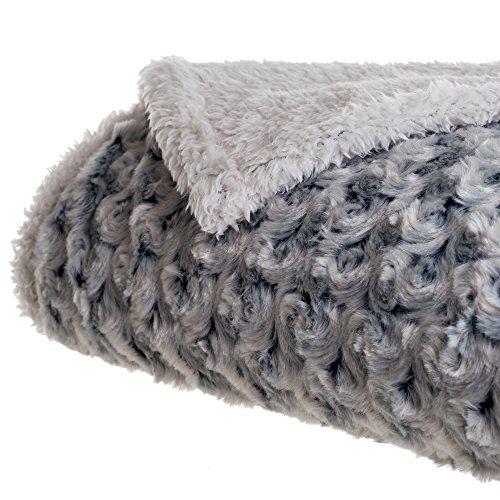 Lavish Home Flower Fleece Blanket product image