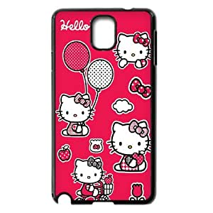 Hello Kitty ROCK0010061 Phone Back Case Customized Art Print Design Hard Shell Protection Samsung galaxy note 3 N9000