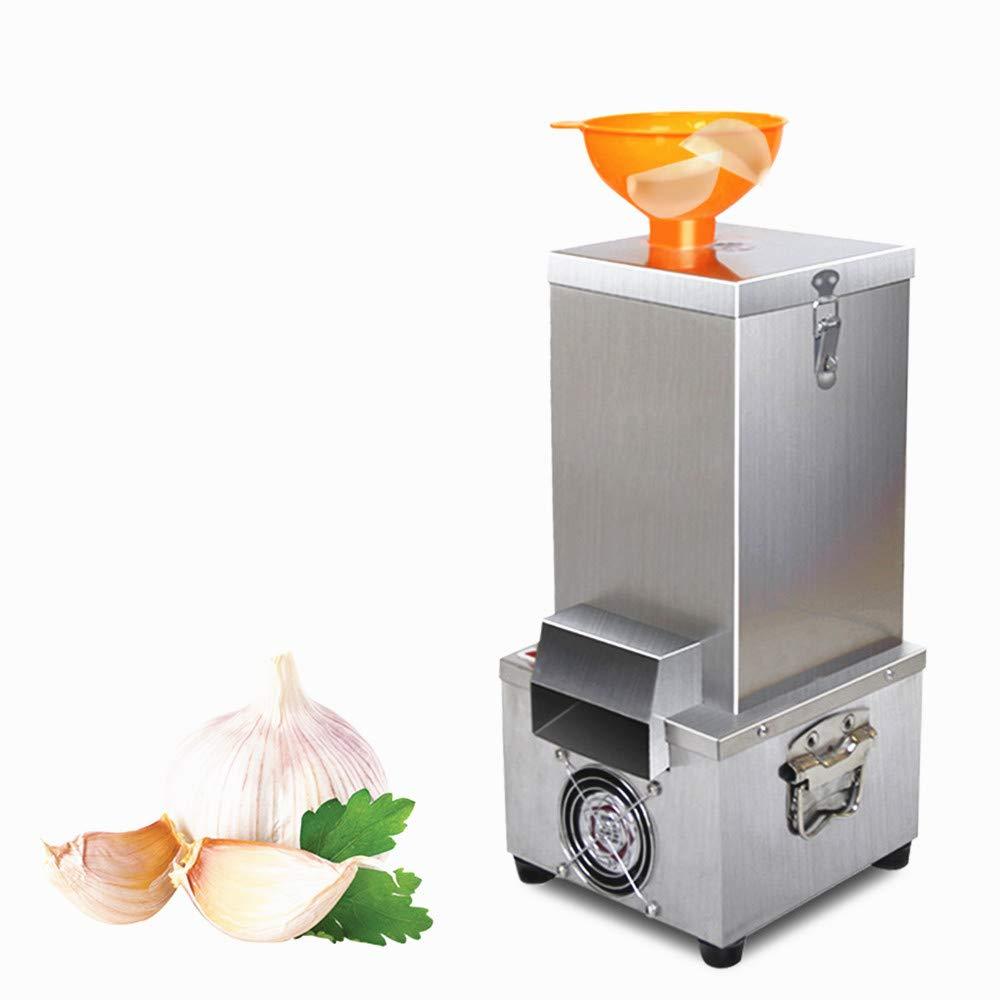 JIAWANSHUN 25kg/h Commercial Garlic Peeling Machine Automatic Garlic Peeler Machine Electric Garlic Peeler (110V) by JIAWANSHUN