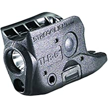 Streamlight 69270 TLR-6 Tactical Pistol Mount Flashlight 100 Lumen with Integrated Red Aiming Laser Only for Glock 42/43, Black