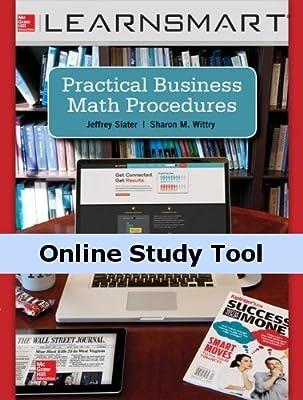 LearnSmart for Practical Business Math Procedures