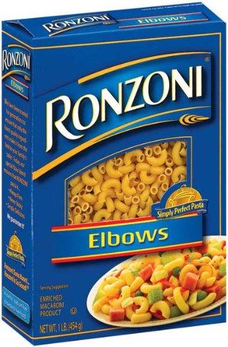 Ronzoni Elbows Pasta 16 Oz Pack Of 20