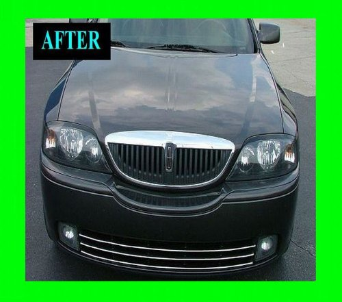 LINCOLN LS 2000-2005 LOWER CHROME GRILLE GRILL KIT 00 01 02 03 04 05 2001 2002 2003 2004 SPORT LSE ULTIMATE LUXURY