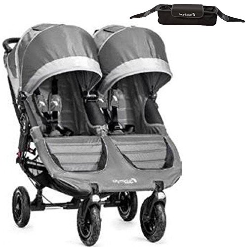 Baby Jogger 1962773KT - City Mini GT Double Stroller With Parent Console - Steel by Baby Jogger