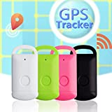 Key Finder – MarMoon 4 PACK GPS Tracker Bluetooth Smart Bluetooth Tracker Wireless Anti Lost Wireless Locator Alarm for Key Wallet Car Kids Pets Phone Located Selfie Shutter for Fathers Day Gift