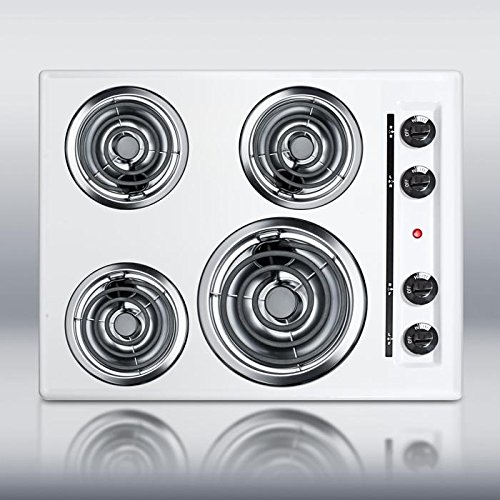 - Summit Appliance WEL03 Electric Cooktop, White