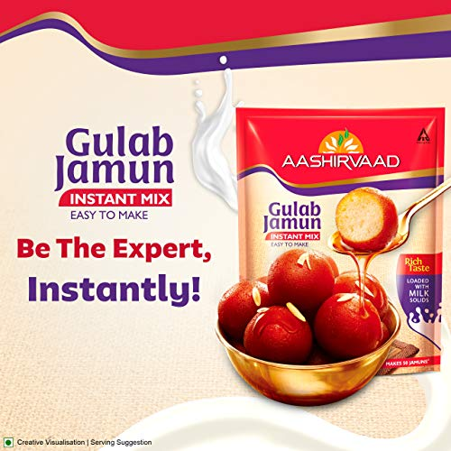 Aashirvaad Instant Mix – Gulab Jamun 500g