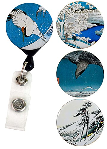 Buttonsmith Hiroshige Retractable Alligator Swappable