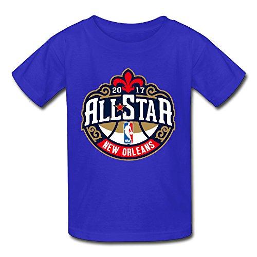 Unisex Baby NBA All-Star Game 2017 Logo Tee RoyalBlue (Wet T Contest)