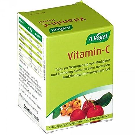 Vitamina C (Bio-C) 40 comprimidos de Bioforce: Amazon.es: Salud y cuidado personal