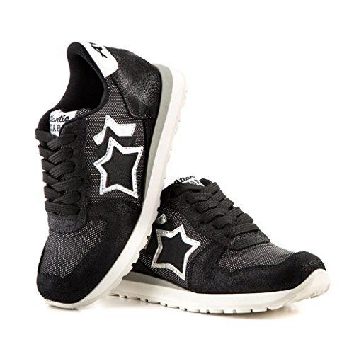 Atlantic Stars Zapatillas Para Niña Negro Negro