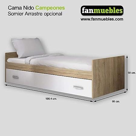 fanmuebles - Cama Nido Campeones - No: Amazon.es: Hogar